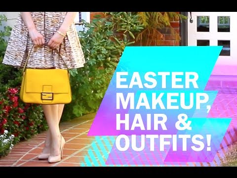 Easter Makeup Hair Outfits-Cassandra Bankson