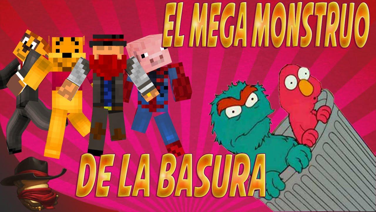 El Mega Monstruo De La Basura | Con Sara, Luh y Exo