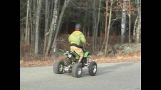 10. How to Pop a Wheelie on a 400ex