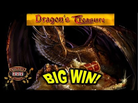 BIG WIN on Dragon's Treasure Slot - £5 Bet!