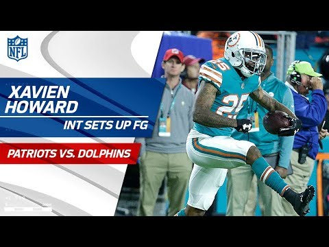 Xavien Howard's INT Sets Up FG to Take Early Lead vs. Pats! | Patriots vs. Dolphins | NFL Wk 14