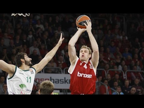 MVP for November: Nicolo Melli, Brose Baskets Bamberg