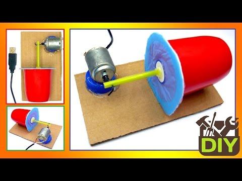 How to Make a USB Air Pump at home