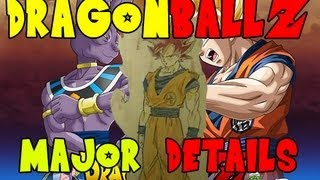 Dragonball Z Battle Of The Gods - Bils, New Series, Super Saiyan God, And More!