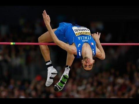 Gianmarco Tamberi 236cm ( Iaaf world indoor championship 2016, Portland 2016. Gold medal)