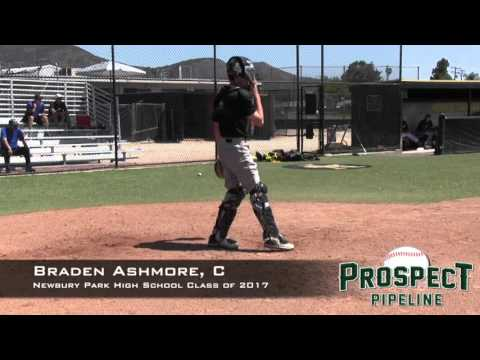 Braden Ashmore Prospect Video, C, Newbury Park High School Class