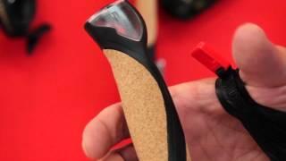 Телескопические палки для скандинавской ходьбы. Masters Training Speed