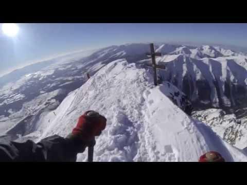 Na lyžiach z Kriváňa 15.2.2015
