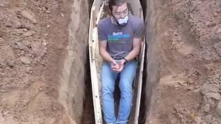 Buried alive prank
