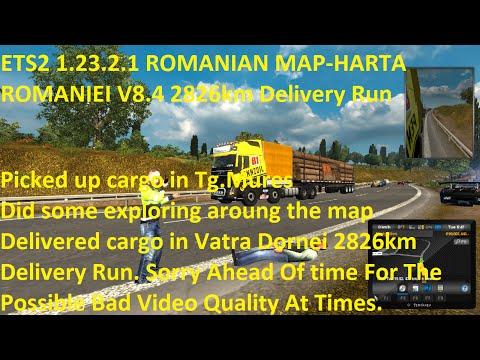 Romanian Map v8.4