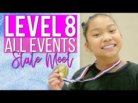 Level 8 Gymnastics State Meet All Events | Ep. 5 of 5 "|480|360|?|en|2|f73064ef83d63aaf33f0d5e03ea28a7e|False|UNLIKELY|0.3777272701263428