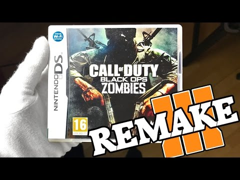 BO1 NINTENDO DS ZOMBIES REMAKE IN BLACK OPS 3! Call of Duty BO3 Mod Gameplay