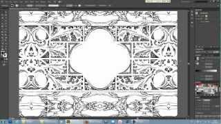 Работы с паттернами в иллюстраторе