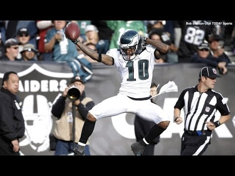Desean Jackson - Song is Breathe (Glitch Mob Remix) by The Prodigy Next video: Brent Celek + Zach Ertz highlights.