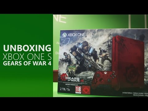 XBOX ONE S 4K - GEAR OF WAR  EDICION LIMITADA 2 TB !!!