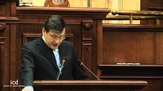 Crin Antonescu, President of the Romanian Senate