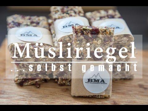 Müsliriegel selber machen | Energieriegel Rezept | BMA Outdoor Kitchen