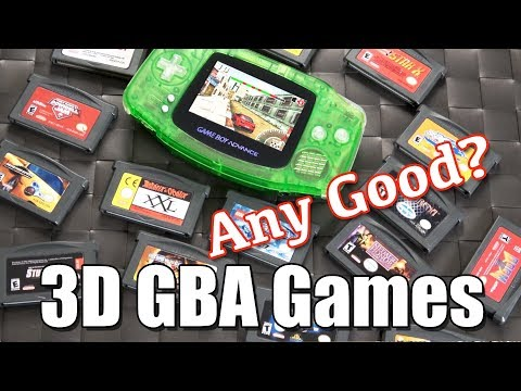 3D GameBoy Advance / GBA Games - ANY GOOD?!