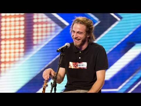 Robbie Hance's audition – Damien Rice's Coconut Skins – The X Factor UK 2012
