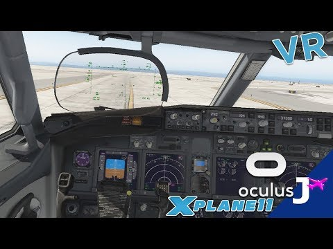 X-Plane 11 Virtual Reality (VR) | Winter Denver Departure
