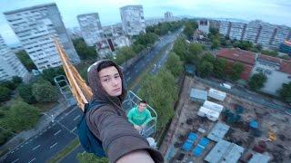 Burgas Bulgaria  city pictures gallery : Crane Climb in Burgas, Bulgaria