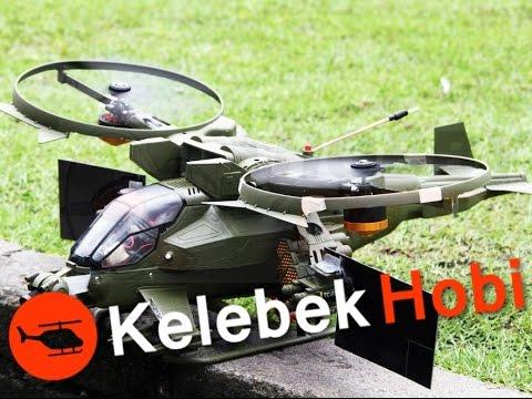 RC Helikopter   Çift Brushless   Karizmatik   Scale   Outdoor mod