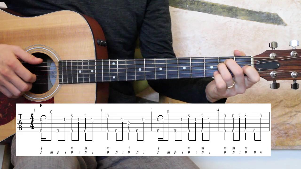 Delta Blues – Study #1 – Guitar Lesson – Advanced Beginner