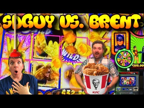 LIVE PLAY on Batman Slot Machine with Features and Big Win!!!