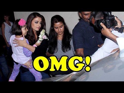 OMG! Aishwarya Rai Bachchan Loses Her Cool On Medi