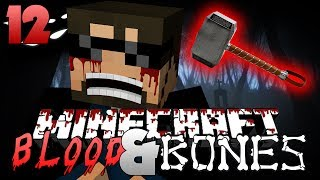 Minecraft FTB Blood and Bones 12 - THOR'S HAMMER!! (Minecraft Mod Survival FTB)