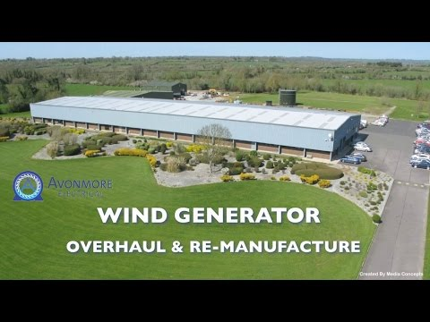 Avonmore Electrical Ltd - Wind Generator Overhaul and Re-manufacture