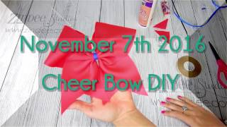 """click """"SHOW MORE"""" to expand this box and see links to the items shown in this video and additional information :) MAILING ADDRESS:Sherrell1910 Navarre parkway#6444Navarre FL 32566------------------------------------Where to Purchase:GrosGrain Ribbon and Aleens stiffen quik:Walmart or any craft storeor on amazon:https://www.amazon.com/Aleenes-Stiffen-Quick-Fabric-Stiffening-Spray/dp/B001145342/ref=sr_1_1?ie=UTF8&qid=1478495408&sr=8-1&keywords=aleenes+stiffenDouble sided tape:https://www.amazon.com/Copic-Markers-Double-Tissue-55-Yard/dp/B004NFNH0I/ref=sr_1_2?ie=UTF8&qid=1478495486&sr=8-2&keywords=double+sided+tape+1%2F4+inch+fabric-------------------------MORE HOW TO VIDEOS:Making a Tumbler Cup with Vinylhttps://youtu.be/LjJMfACl45MMaking Glitter Ornamentshttps://youtu.be/OwiOi9HXEqsMaking a Rhinestone Decalhttps://youtu.be/l0kuTH4VK3QHow to make a cutting boardhttps://youtu.be/jRmqYogD2xMhttps://www.facebook.com/Sherrellz/Music by: https://soundcloud.com/ehrling"""