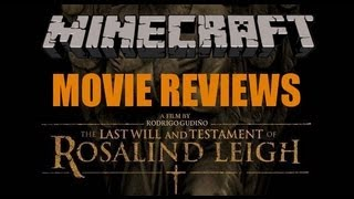 Minecraft Movie Reviews: The Last Will And Testament of Rosalind Leigh.