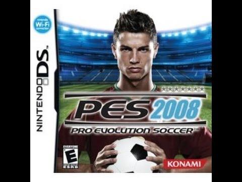 descargar pro evolution soccer 2008 nintendo ds