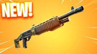 The New LEGENDARY PUMP Shotgun in Fortnite..