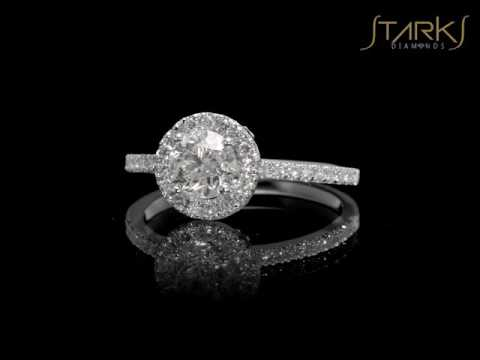 1.35 CT ENGAGEMENT DIAMONDS RING RE100SD252 Verona