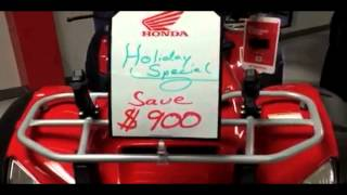 9. 2014 Honda Rincon Holiday Sale