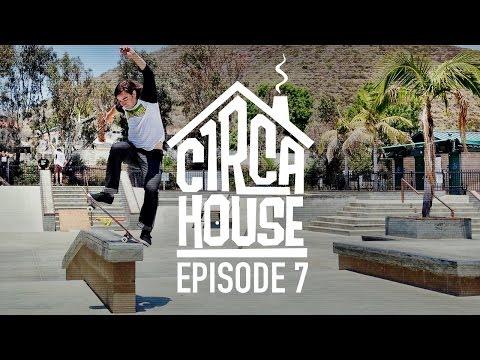 Windsor James, Taylor Kirby & Ryan Reyes PQ Skatepark - C1RCA House ep 7