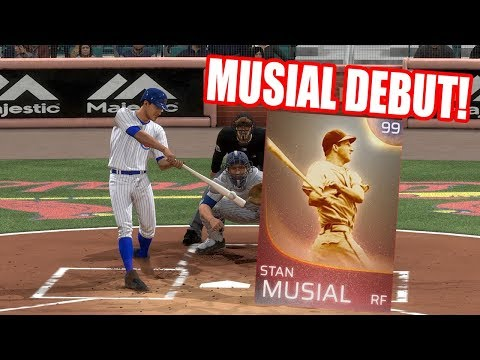 99 Immortal Stan Musial Debut! - MLB The Show 18 Diamond Dynasty Gameplay