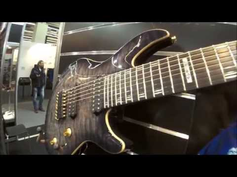 Musikmesse 2015 - LTD new Signature guitars