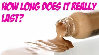 HOW LONG DOES A BOTTLE OF FOUNDATION REALLY LAST?! by Wayne Goss