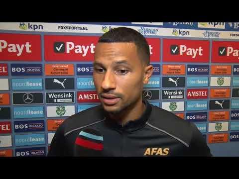 Reactie Van Rhijn na FC Groningen - AZ