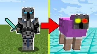 Minecraft: TRANSFORMING INTO MR. RAINBOW! - ENTER THE MINE! (B&N HANGOUT!) - A Hole New World [4]