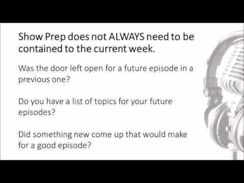 Columbus Podcasters Meetup Tutorial Part 2 - Episode Prep