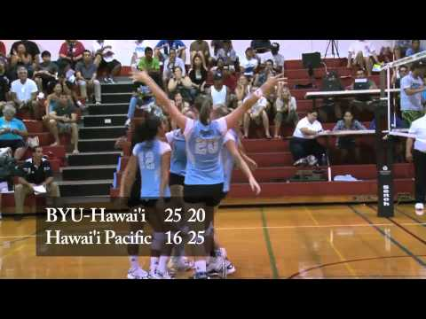 HPU vs. BYU-Hawaii Volleyball