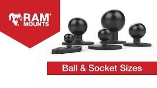 3. Ball & Socket Sizes - RAM® Mounts