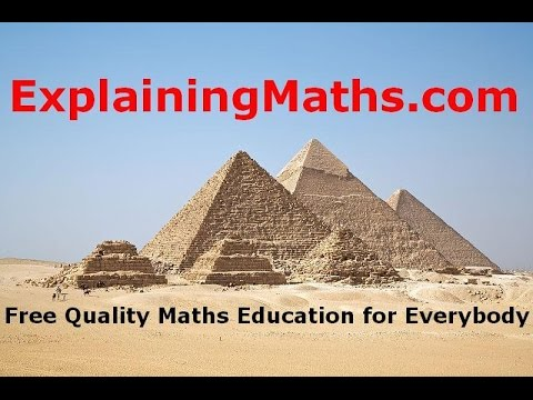 Solving Complete Past Maths Exam; Paper 42 May/June 2015 - ExplainingMaths.com IGCSE Maths