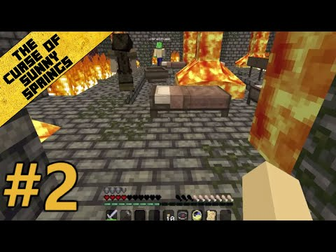Minecraft Custom Map: The Curse of Sunny Springs - Del 2