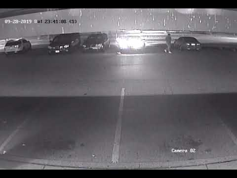 Security camera footage from Homicide #51 investigation