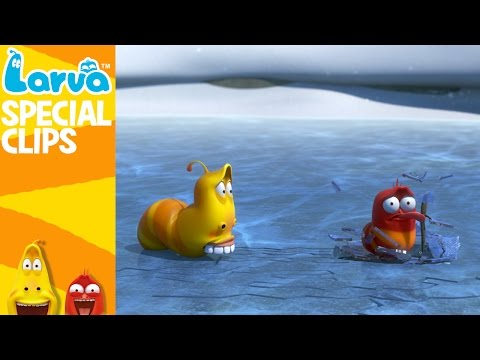 Winter - Fun Clips from Animation LARVA